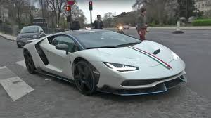 lamborghini centenario watch the 1 9 million lamborghini centenario hit the road in paris