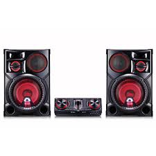 Party Speakers With Lights Lg Cj98 3500w Hi Fi Entertainment System W Bluetooth Lg Usa