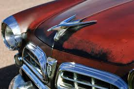 1955 chrysler deluxe ornament photograph by reger