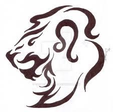 tribal leo by cozmicdreamer on deviantart