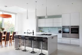 beautiful grey and white contemporary kitchens taste