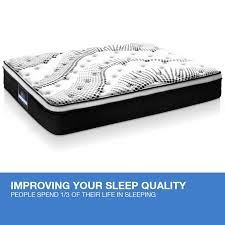 mattress single size euro top 5 zone pocket spring high resilience