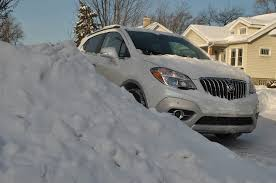 nissan 350z in snow 2014 buick encore reviews and rating motor trend