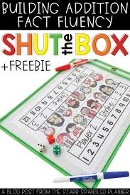 shut the box free printable addition math game homeschool giveaways