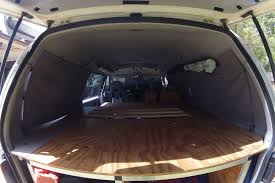mitsubishi delica 2016 interior diy blockout curtains for our delica campervan comfortably lost