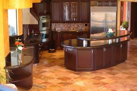 kitchen room 2017 curved matte brown stained mahogany wood