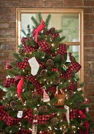 Pics Of Decorated Christmas Trees 20 Rustic Christmas Home Decor Ideas Gorgeous Rustic And Nature