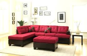 ashley furniture sectional slipcovers sectional red microfiber
