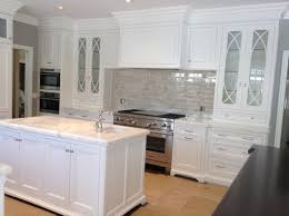 Crackle Kitchen Cabinets Silver Crackle Backsplash Done
