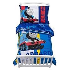 amazon com thomas the tank toddler bed set home u0026 kitchen