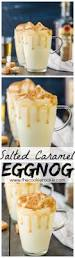 best thanksgiving cocktail homemade salted caramel eggnog recipe stove caramel and