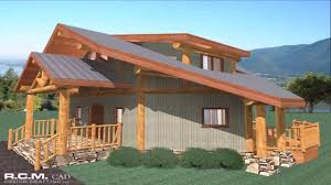 house plans ontario post and beam youtube