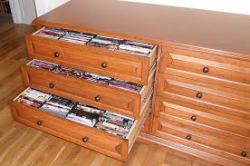 Dvd Shelf Wood Plans by Media Storage Cabinets With Drawers Organize Your Blu Rays Dvds