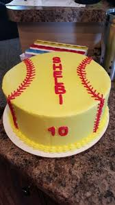 softball cake my cakes cupcakes and other baked goods