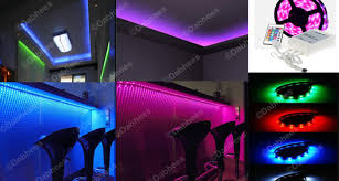 living room mood lighting rgb led strip kitchen bedroom party