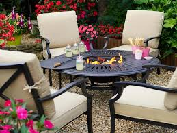 Metal Garden Table And Chairs Uk Hartman Florence Fire Pit Set Metal Garden Furniture Hayes