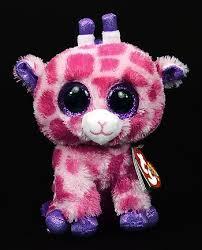 amazon ty beanie boos cute twigs pink giraffe plush