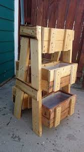 superb ways to reuse old wooden pallets gardens crafts and the