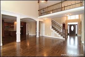 Two Story House Plans With Balconies Custom Staircase Photos And Ideas Top Staircase Trends In Custom