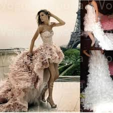 feather wedding dress front back pink feather wedding dress inspired by