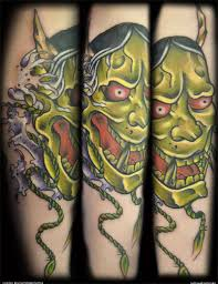 oni mask tattoo artists org