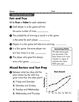 probability and statistics teachervision