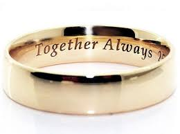 ring engraving 12 best decorate your ring with a touching promise images on
