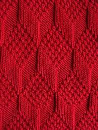 learn to knit this great textured pattern with the help of a photo