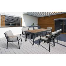 Outdoor Table Ls Nofi Outdoor Patio Dining Set