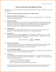 lab report conclusion template 9 formal chemistry lab report exle financial statement form