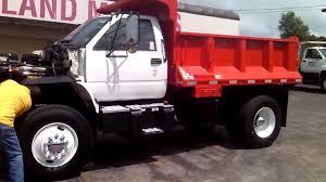 1994 cheve kodiac c7500 dump truck youtube