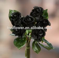 real black roses black flower decorative artificial flower real touch