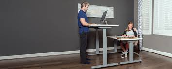 Standing To Sitting Desk Flexispot Height Adjustable Standing Desk Desktop Workstation