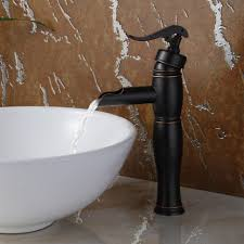 bathrooms design sink fixtures widespread bathroom faucet glass