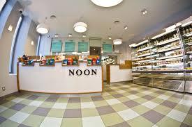 Noon Fast Food Restaurant By Maam Paris  Retail Design Blog - Fast food interior design ideas