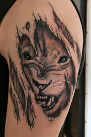 tiger coming out of skin angry tiger coming out of skin on