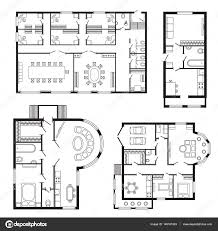 architectural plan modern office architectural plan interior furniture and