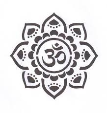 om with mandala the in my inspired stencil