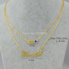 Name Chains Gold Cheap Name Chains Gold Necklace Find Name Chains Gold Necklace