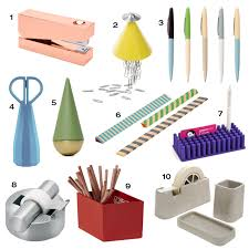 Office Desk Supply 10 Modern Office Supplies To Up Your Desk Design Milk