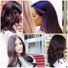Color Dye For Dark Hair 20 Purple Hair Color Ideas For Dark Hair Purple And Black Hair