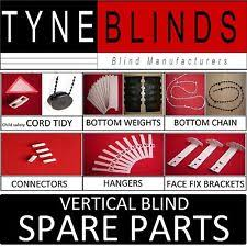 Spare Parts For Roman Blinds Vertical Blind Parts Ebay