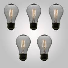 standard light bulb base e26 11 watt incandescent ps50 vintage edison light bulb squirrel cage