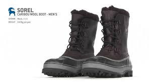 sorel caribou wool boot men u0027s youtube