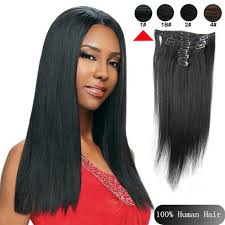 real hair clip in extensions cheap wholesale clip in real human hair 1 jet black extensions ombre brown 16 18 20 22 24 inch wave wave yaki 0002 jpg