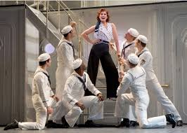 Sho Ayting theater review anything goes on broadway neon
