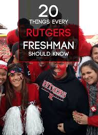 20 things every rutgers freshman should know society19