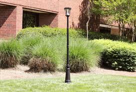 amazon com gama sonic victorian solar lamp post and single lamp