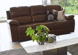 Primo Leather Sofa Vida Living Exclusive Primo Chestnut Brown Leather 3 Seater
