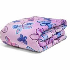 mainstays kids butterfly blanket purple walmart com
